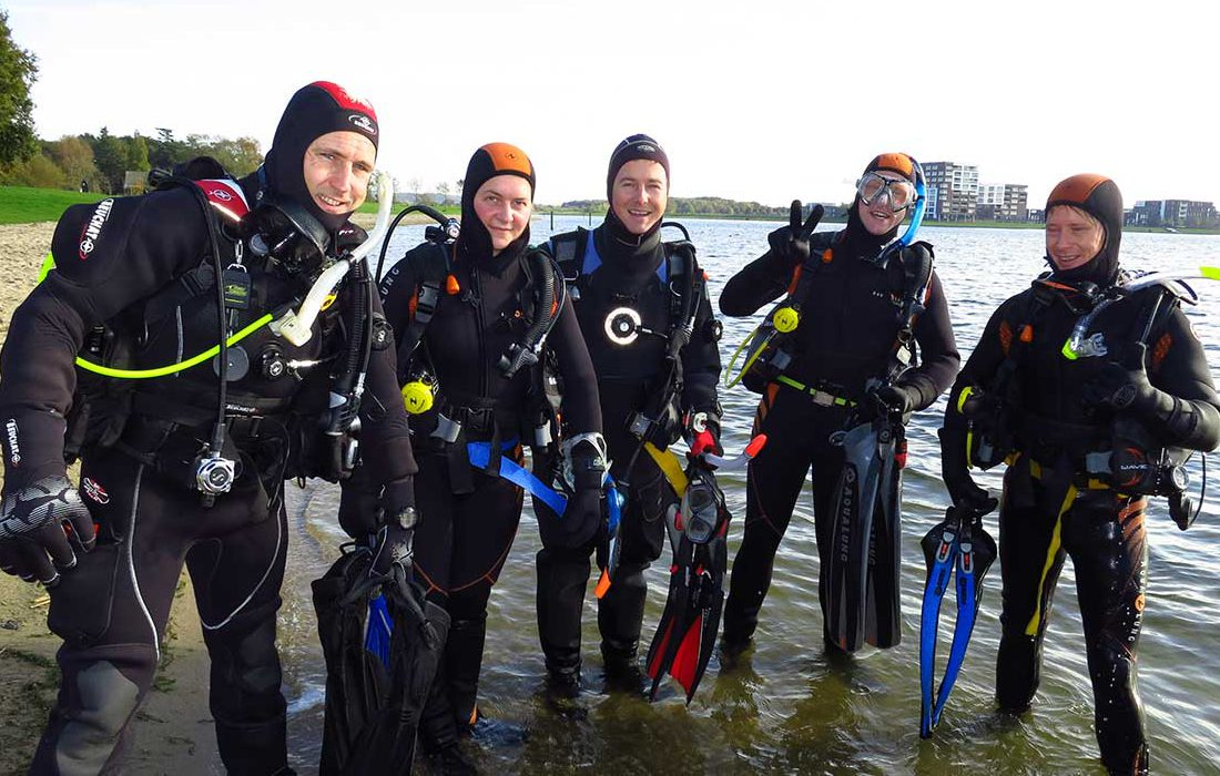 Padi open water diver opleiding   Eindhoven